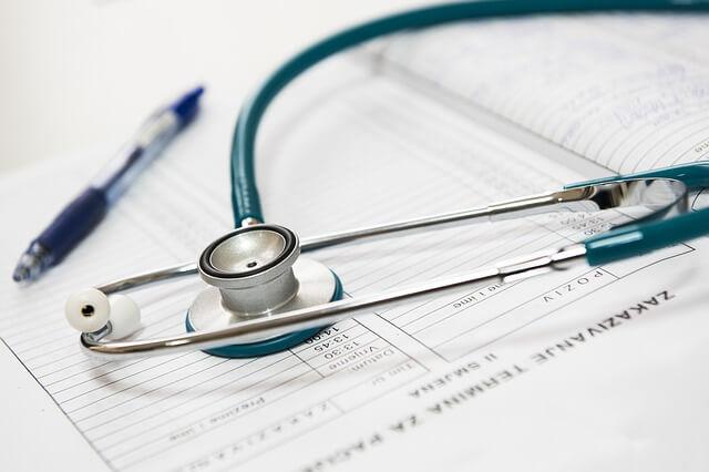 低音障害型感音難聴における病院の診察手順一例