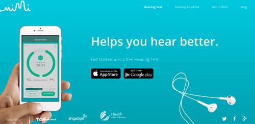 耳の聴力を調べるアプリ
