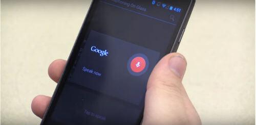 Googleの音声認識で音声を認識する