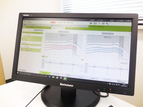 補聴器はパソコンで調整するのが主流