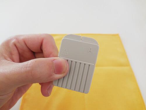 フィルターを交換する道具、メーカーによって異なる