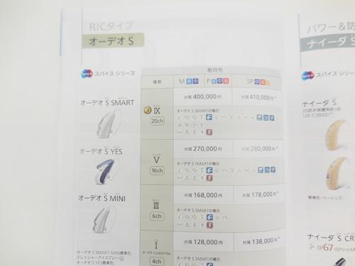 補聴器の対象その二、スパイスシリーズ