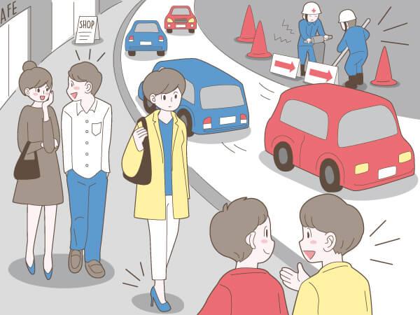日常生活では、常にどこかしらで音がしている。人の話す声、車の音、遠くで作業している音。それらが聞こえを改善することにより、良くも悪くも聞こえるようになる。