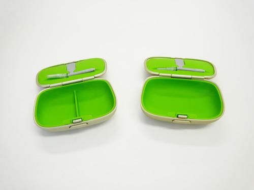 簡易持ち運び用のケース。購入時や貸出時に付属することが多いです。