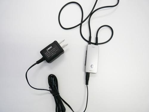 充電に関しては、付属されているコンセントを差し込み、充電します。